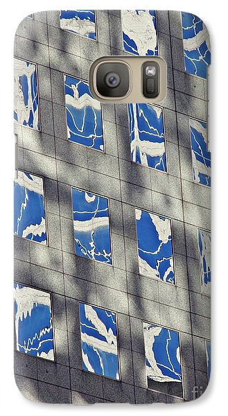 Galaxy Case featuring the photograph Windows Of 2 World Financial Center 3 by Sarah Loft