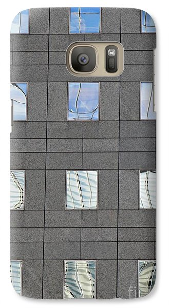 Galaxy Case featuring the photograph Windows Of 2 World Financial Center   by Sarah Loft