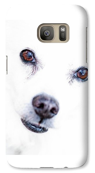 Galaxy Case featuring the photograph Windows To The Soul by Lara Ellis