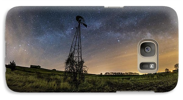 Galaxy Case featuring the photograph Winds Of Time by Aaron J Groen