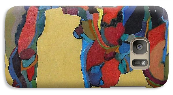 Galaxy Case featuring the painting Windsong by Bernard Goodman