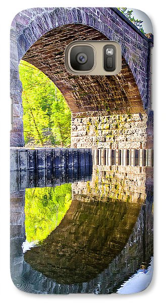 Galaxy Case featuring the photograph Windsor Rail Bridge by Tom Cameron