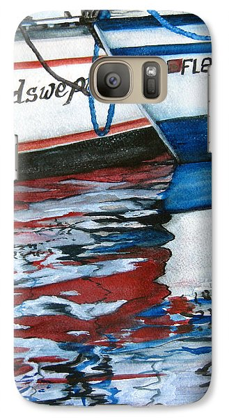 Galaxy Case featuring the painting Windswept Reflections Sold by Lil Taylor