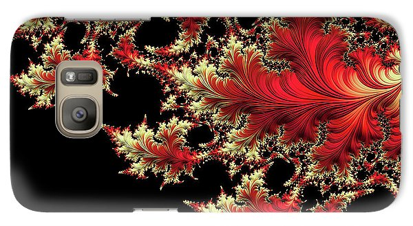 Galaxy Case featuring the digital art Windswept by Susan Maxwell Schmidt