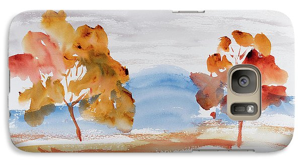 Windy Autumn Colours  Galaxy S7 Case