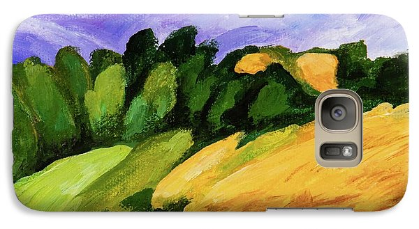 Galaxy Case featuring the painting Windy by Igor Postash