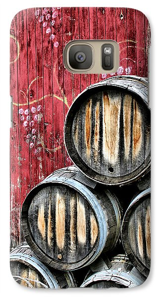 Wine Barrels Galaxy S7 Case by Doug Hockman Photography