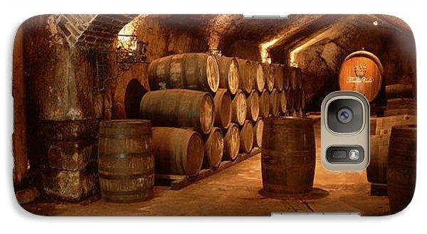 Wine Barrels In A Cellar, Buena Vista Galaxy S7 Case