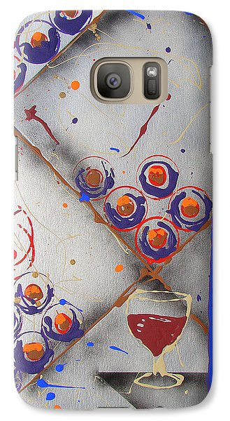 Galaxy Case featuring the painting Wine Connoisseur by J R Seymour