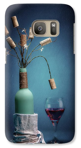 Galaxy Case featuring the photograph Wine Cork Bouquet by Tom Mc Nemar