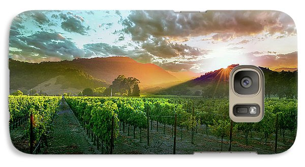 Wine Country Galaxy S7 Case
