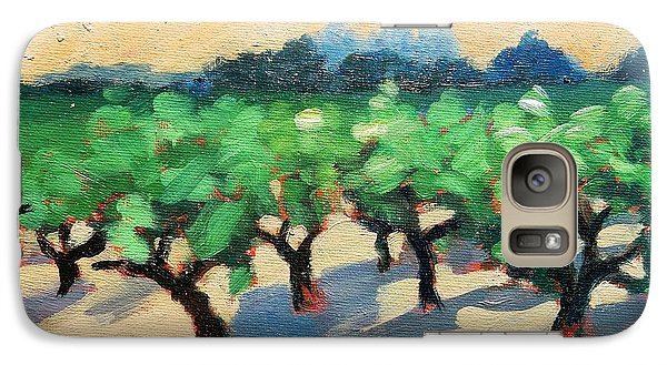 Galaxy Case featuring the painting Wine Habitat by Gary Coleman