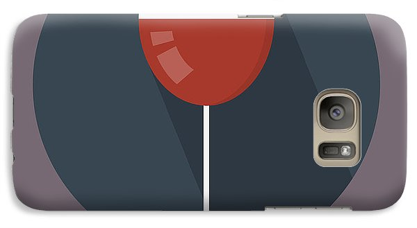 Wine Poster Print - It's Winesday Galaxy S7 Case
