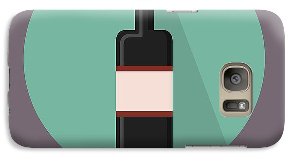 Wine Poster Print - Win And Wine Galaxy S7 Case