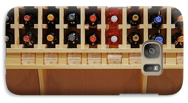 Galaxy Case featuring the photograph Wine Rack - 1 by Nikolyn McDonald
