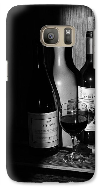 Galaxy Case featuring the photograph Wine Sampling by Steven Clipperton
