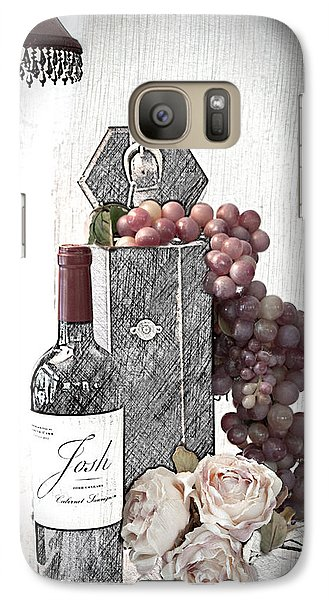 Galaxy Case featuring the photograph Wine Tasting Evening by Sherry Hallemeier