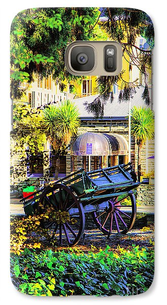 Galaxy Case featuring the photograph Wine Wagon by Rick Bragan