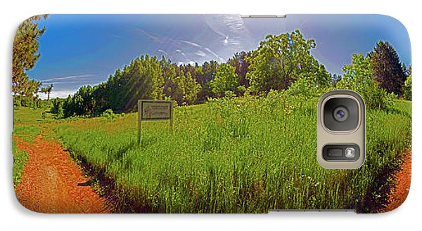 Galaxy Case featuring the photograph Wingate Prairie by Tom Jelen