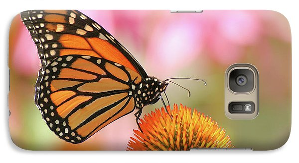 Galaxy Case featuring the photograph Winged Beauty by Doris Potter