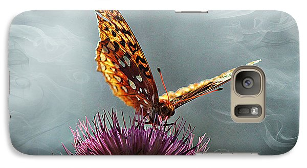 Galaxy Case featuring the photograph Winged Things by Jessica Brawley