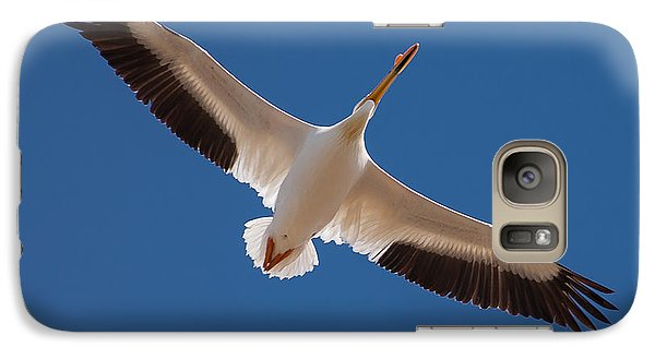 Galaxy Case featuring the photograph Wings Are Spread by Monte Stevens