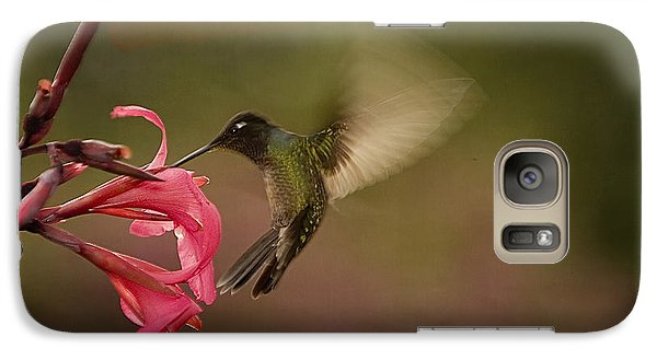 Galaxy Case featuring the photograph Wings In Motion 3 by Anne Rodkin