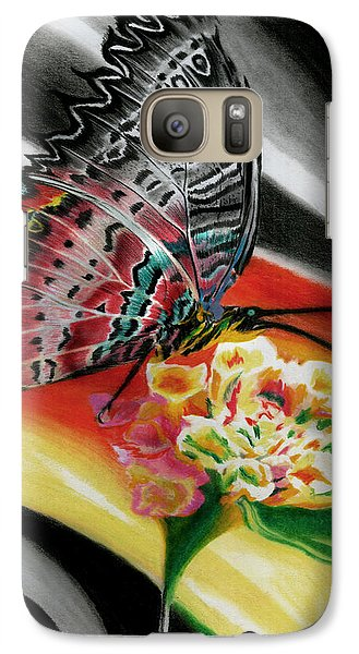 Galaxy Case featuring the painting Transforming Winds     by Peter Piatt
