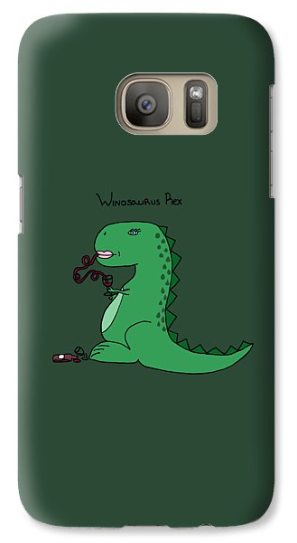 Winosaurus Rex Galaxy S7 Case