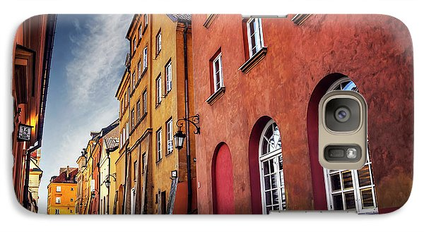 Galaxy Case featuring the photograph Winsome Warsaw  by Carol Japp