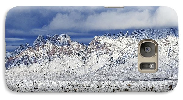 Galaxy Case featuring the photograph Winter Beauties Organ Mountains by Kurt Van Wagner