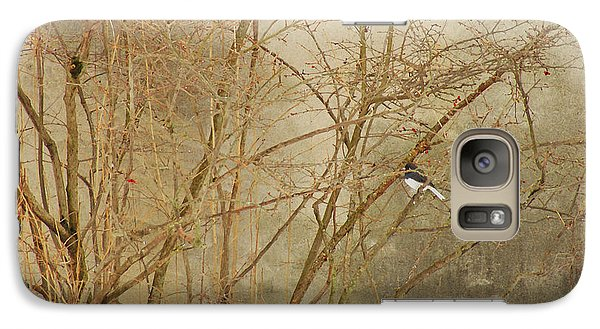 Galaxy Case featuring the photograph Winter Bird At The Audubon by Margie Avellino