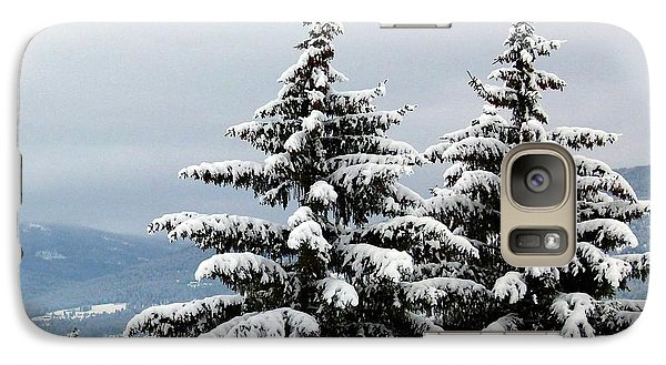 Galaxy Case featuring the photograph Winter Bliss by Will Borden