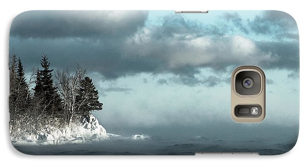 Galaxy Case featuring the photograph Winter Blues by Mary Amerman