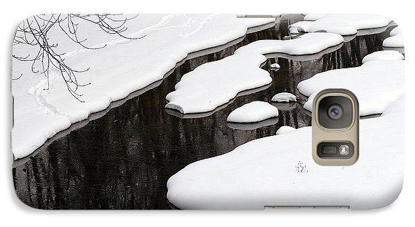Galaxy Case featuring the photograph Winter Dreams by Paula Guttilla