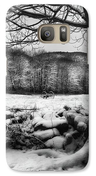 Galaxy S7 Case featuring the photograph Winter Dreary by Bill Wakeley