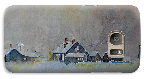 Winter Dungeness Galaxy S7 Case by Beatrice Cloake