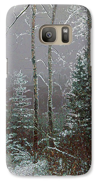 Galaxy Case featuring the digital art Winter Fog by Stuart Turnbull