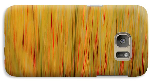 Galaxy Case featuring the photograph Winter Grasses #1 by Tom Vaughan
