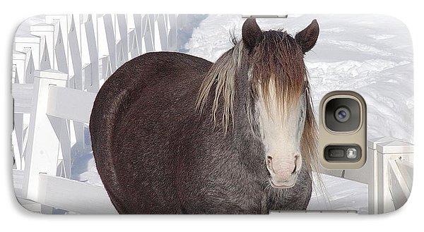 Winter Horse Galaxy S7 Case