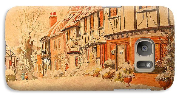 Winter In Chilham Kent Galaxy S7 Case by Beatrice Cloake