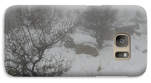 Galaxy Case featuring the photograph Winter In Israel by Annemeet Hasidi- van der Leij