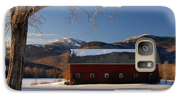 Galaxy Case featuring the photograph Winter In New England by Alana Ranney