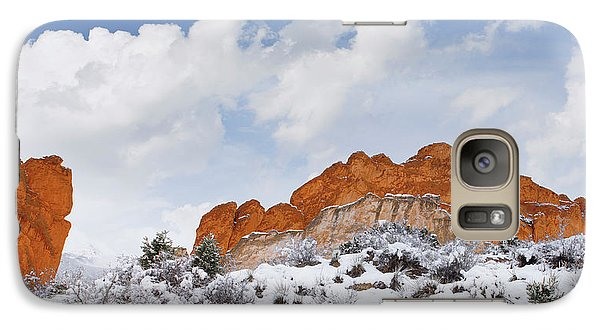 Galaxy Case featuring the photograph Winter In Spring by Tim Reaves