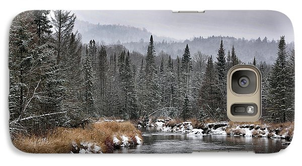 Galaxy Case featuring the photograph Winter In The Adirondack Mountains - New York by Brendan Reals