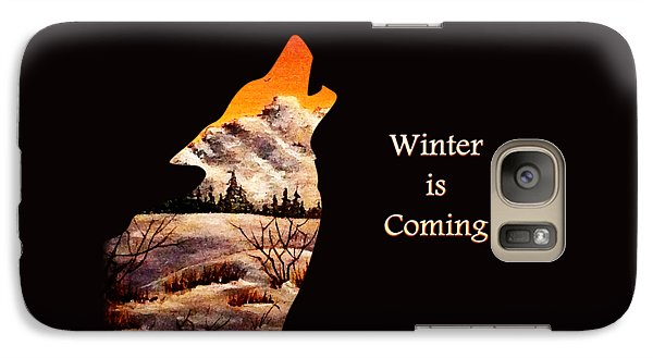 Winter Is Coming Galaxy S7 Case