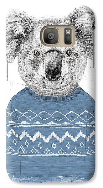 Koala Galaxy S7 Case - Winter Koala by Balazs Solti