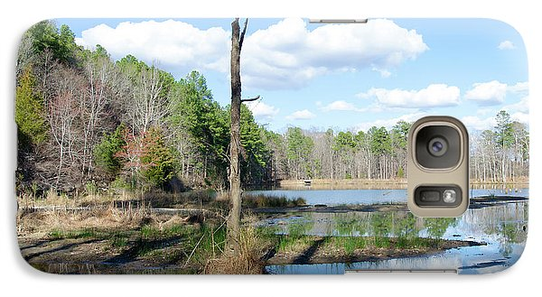Galaxy Case featuring the photograph Winter Lake View by George Randy Bass