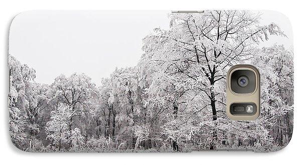 Galaxy Case featuring the photograph Winter Landscape by Gabor Pozsgai