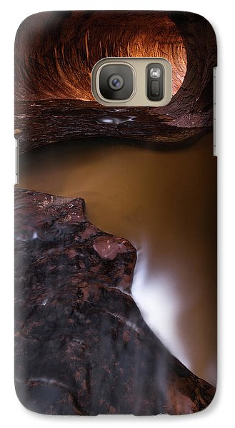 Galaxy Case featuring the photograph Winter Light by Dustin LeFevre